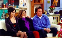 'Friends' Characters Watching TV