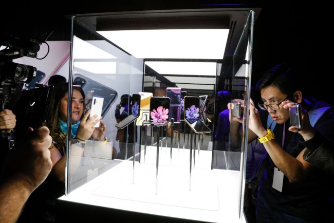 Samsung Unveils New Products At Its Annual Unpacked Event