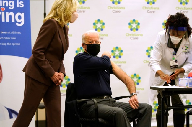 President-Elect Biden Receives COVID-19 Vaccination