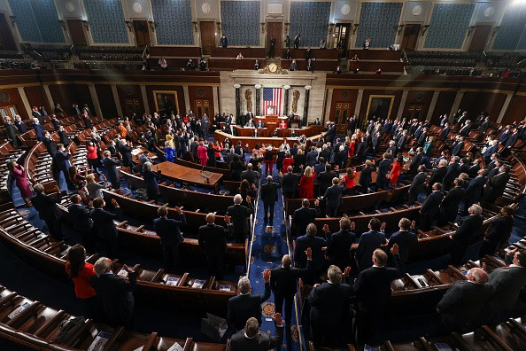 The U.S. House Of Representatives Convenes 117th Congress, Swears In New Members