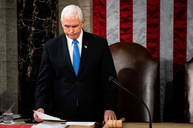Pence says No to 25th Amendment, will not Allow Removal of Trump