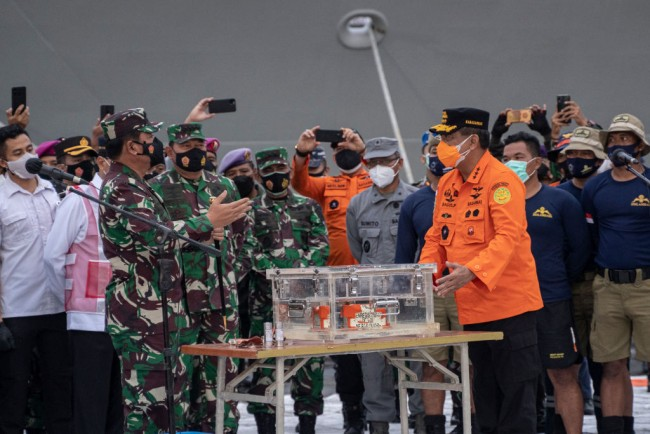Investigators Find the Black Box of Flight 182 that Crashed into Java Sea
