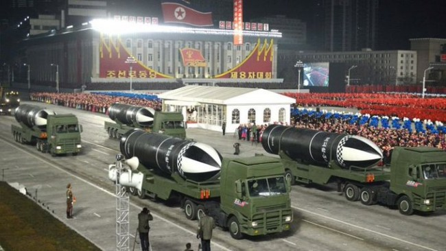 North Korea Missiles. January 14th 2021