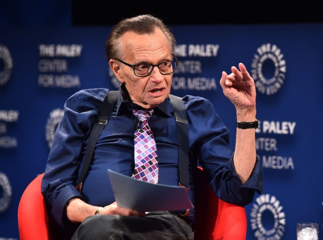 Larry King, TV Legend, Passes Away at 87 Due To COVID-19