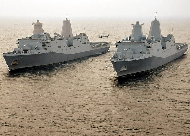 US Navy Plans to Deploy Ship-Killer Missiles On Amphibious Ships as Fighting Ships not Transports