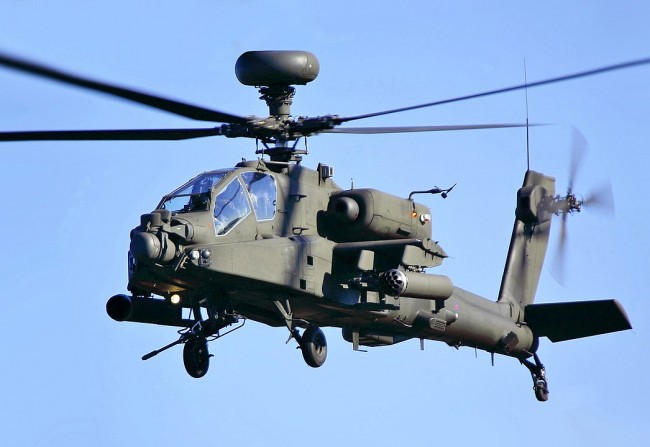 US army has the most Advanced Apache Helicopter Gunship with Updated Features