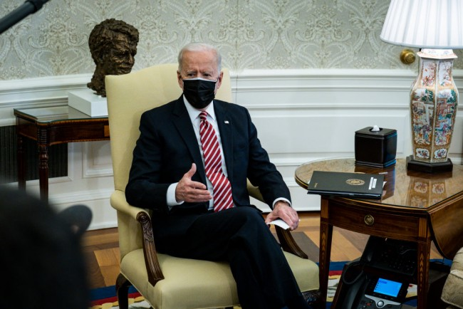 President Biden Discusses American Rescue Plan With Labor Union Leaders