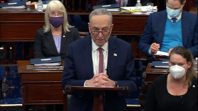 Schumer Callously Mocks 'Republican' Texas over Energy Crisis, Says They Ignored Climate Change