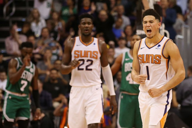 Devin Booker To Replace Anthony Davis in All-Star Game 2021, Lakers Star To Miss It Due To Calf Injury