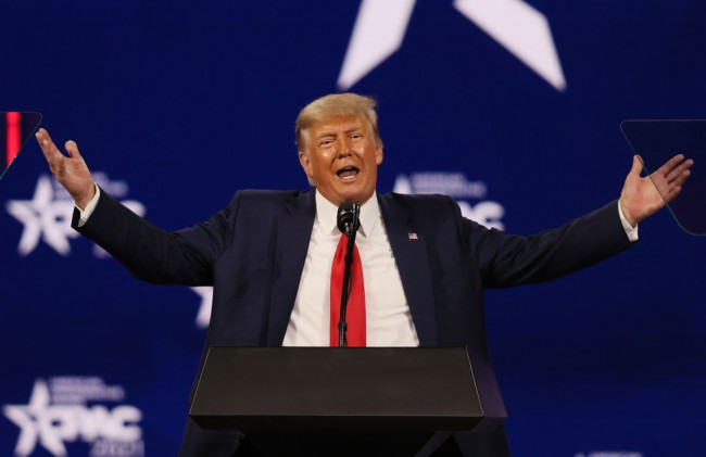 Trump Overwhelming Winner in CPAC Straw Poll, DeSantis is the Next in Line to Succeed