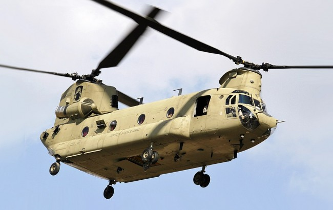 US Chinook Twin Rotor Heavy Helicopters bought by Indian Air Force not Israeli Air Force