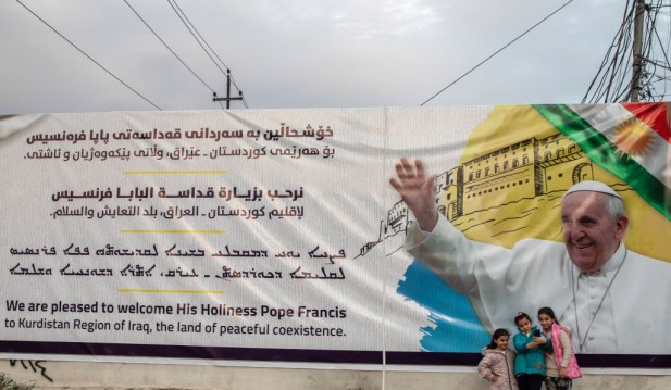 Iraq Prepares For Historic Visit By Pope Francis