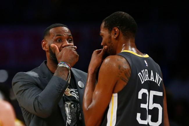 2021 NBA All-Star Game: LeBron, Durant Pick Teammates