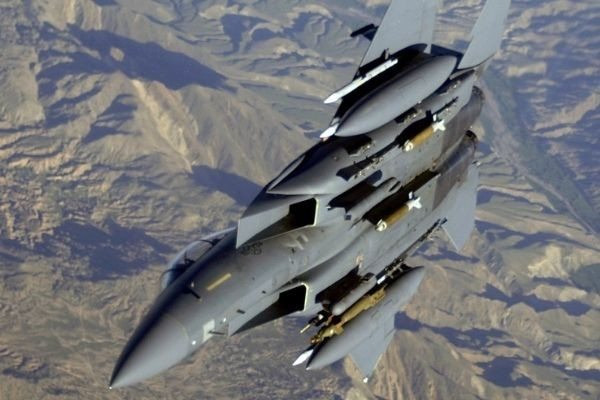 F-15EX Eagles Armed With Hypersonic Missiles for Attack