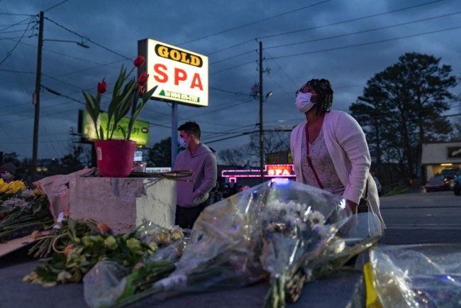 Atlanta Shootings: Video Shows Suspect Parking in Front of Spa