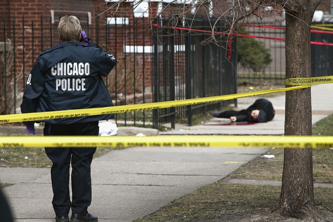 Gun Violence Claims Another Victim On Chicago Streets