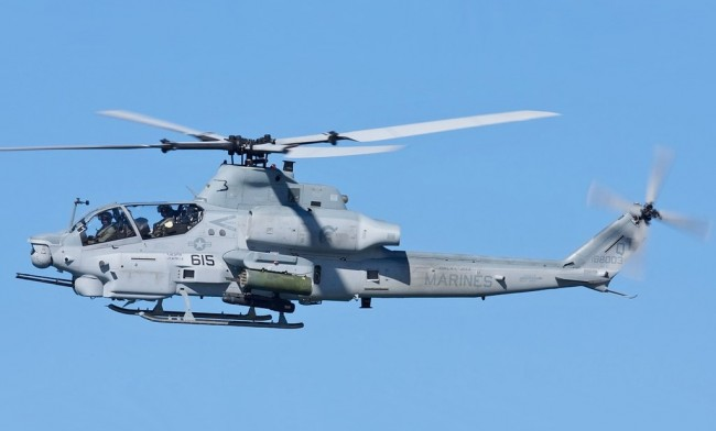 Bell AH-1Z Viper: Twin-Engine Attack Helicopter Derived from AH-1W Super Cobra