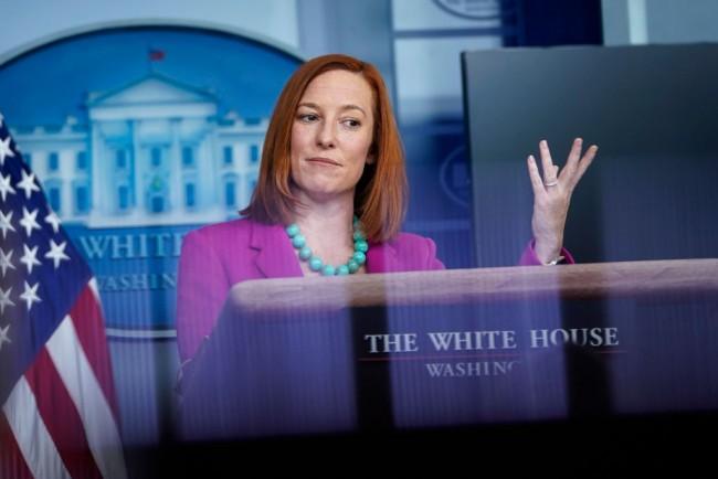 Press Secretary Jen Psaki: White House Sanctioning of States Is Not True