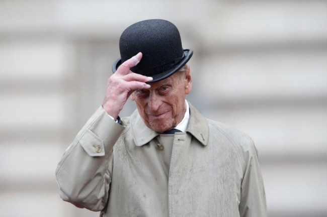 Prince Philip, on his dying days