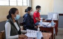 Peruvians Go To Polls On fragmented Presidential Elections