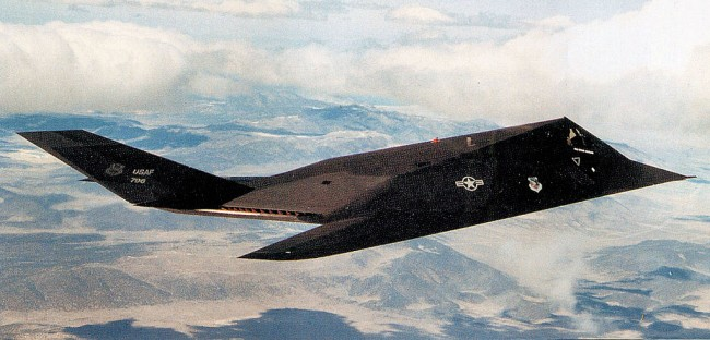 Stealth F-117 Nighthawk Planned to Carry Out Nuclear Attacks on Soviet Union