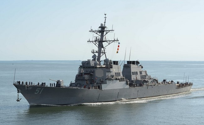 Arleigh Burke Class Destroyer the United States Navy's Most Deadly ship