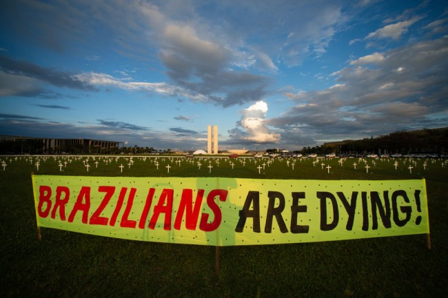 Will Brazil Follow India: Country Approaches 400,000 COVID-19 Death Toll Amid Vaccine Disruptions, Loosening Restrictions