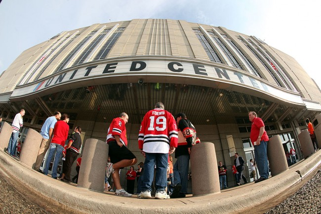 Chicago Sports Teams To Allow Paying Spectators at 25 Percent Capacity at the United Center