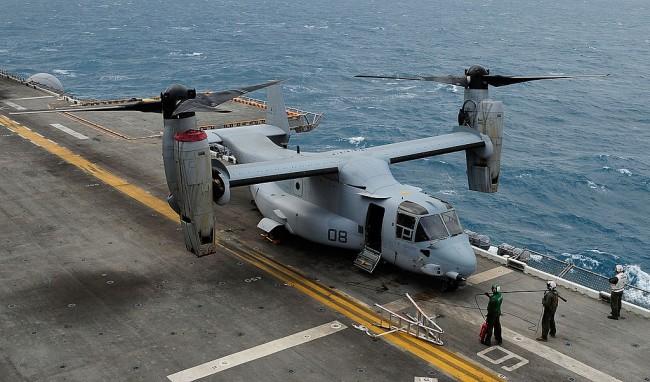 V-22 Osprey Tilt-Rotor Aircraft: Next Generation Naval Air Lift Rotorcraft