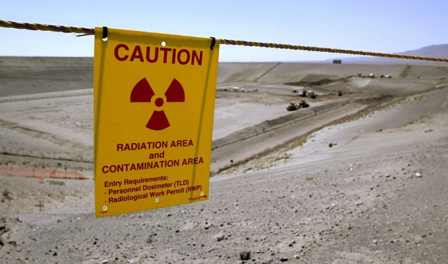 Official Report an Underground Waste Tank Leaking Liquid in Washington Nuclear Site
