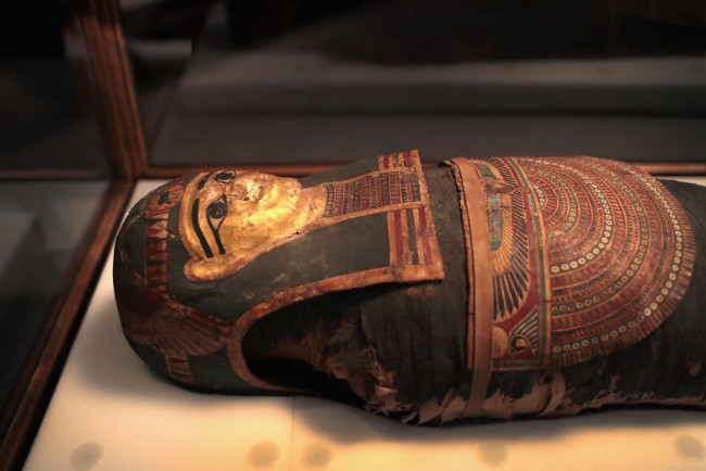 Researchers discovered first First-known pregnant mummy found in Male Priest's Sarcophagus