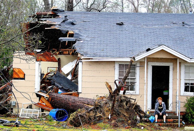 Tornadoes Cause Devastation in Mississippi, Georgia; More Than 100 Million People at Risk of Severe Weather