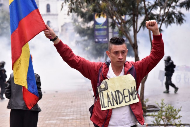 Colombians Hold Strike Against Tax Reform Bill Amid COVID-19 Deaths Surge