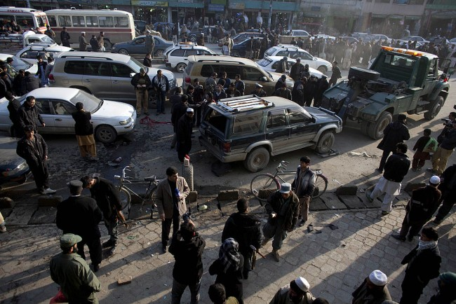 Bomb Explosion in Afghan Capital Near Girl's School Killed 30 People
