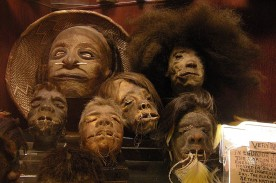 """Shrunken Head in """"Wise Blood 1979"""" Film Real? Skull-Less Human Head Merely Made of Hair and Skin"""