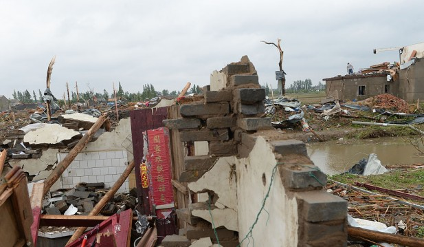 Deadly China Tornadoes Caused 12 Deaths, 300 are Hurt in Areas Struck by the Freak Weather