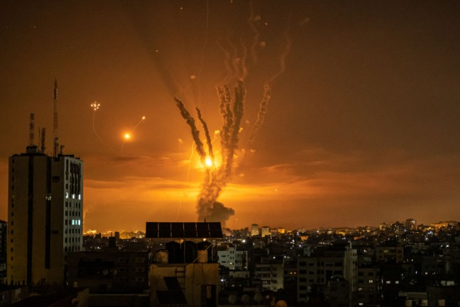 Iron Dome Stops the Hamas Rockets and Shields Israel from Repeated Barrages