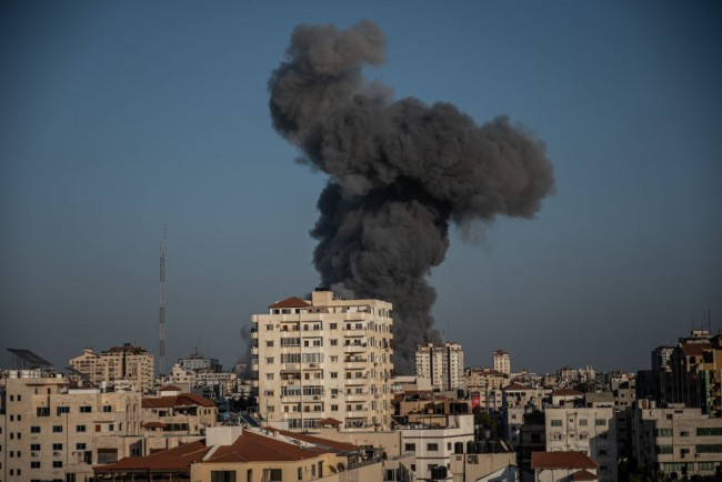 Biden's New Arms Deal to Israel will cost $735 million; the Israel Defense Force used JDAMS to hit targets like the Gaza Tower.