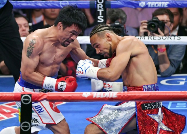 Manny Pacquiao vs. Errol Spence Jr., a Welterweight Title Unification Bout, in Las Vegas on August 21