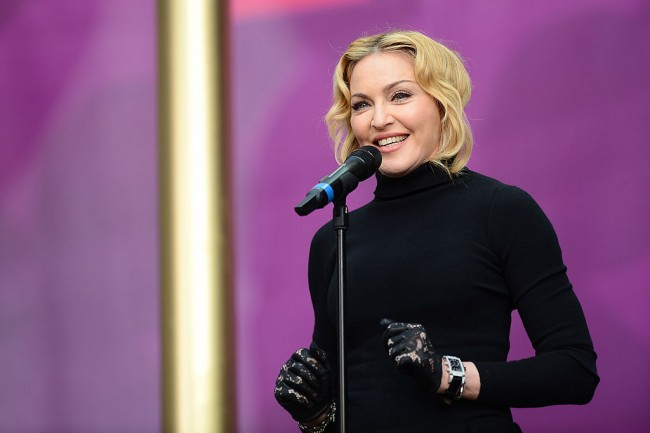 Madonna Cheers Son for Modeling a Dress Around the House; A Day After Revealing Much-Anticipated Concert Film