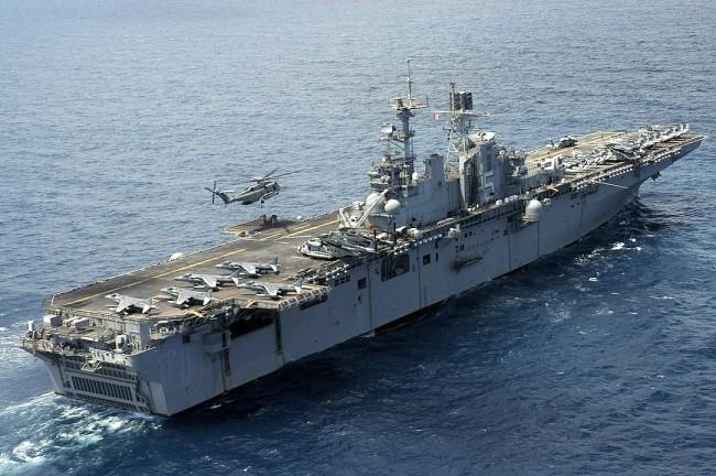 LHD-1 Wasp class: Amphibious Warfare Vessels of the US Navy
