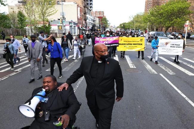 Peace Walk To Denounce Gun Violence Held In Harlem