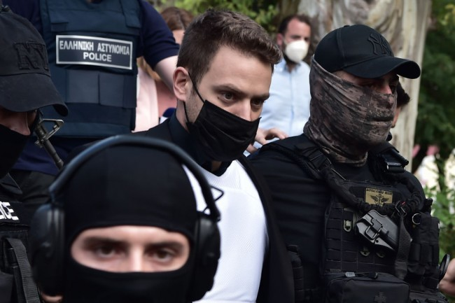 Court Appearance After Greek Man Confesses Murdering British Wife