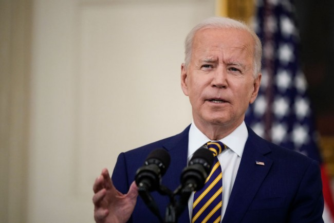 President Biden Speaks On Country's COVID-19 Response And The Vaccination Effort