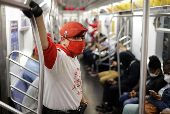 Guardian Angels Patrol New York City's Chinatown To Prevent Anti-Asian Crime