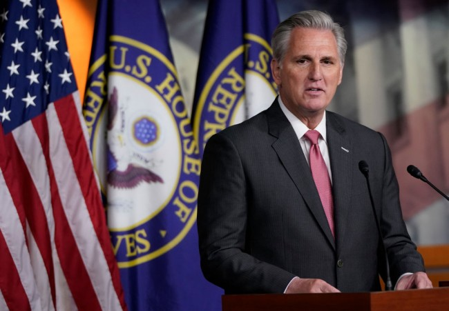 Sen. McCarthy says Trump Wants to be Speaker but he Prefers him as the 47th President