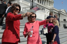 House Speaker Nancy Pelosi And House Democrats Hold Event Marking First 200 Days Of The 116th Congress
