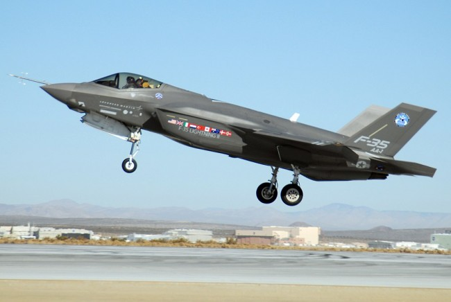 The F-35 has a Problem with Going Supersonic, But the DoD Does not Want to Fix it