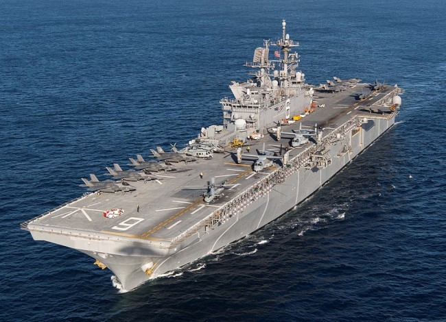 If the US Navy Ditches Expensive Super Carriers for Small Carriers in Against its Adversaries?