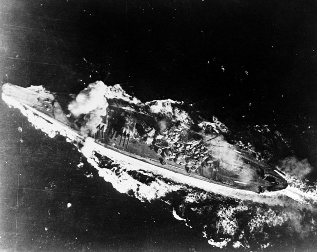Battleships are Powerful Surface Combatants but they are Invulnerable, Put a Hole were it Counts to Sink it